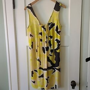 NWT Nally & Milie tank dress with pleated center